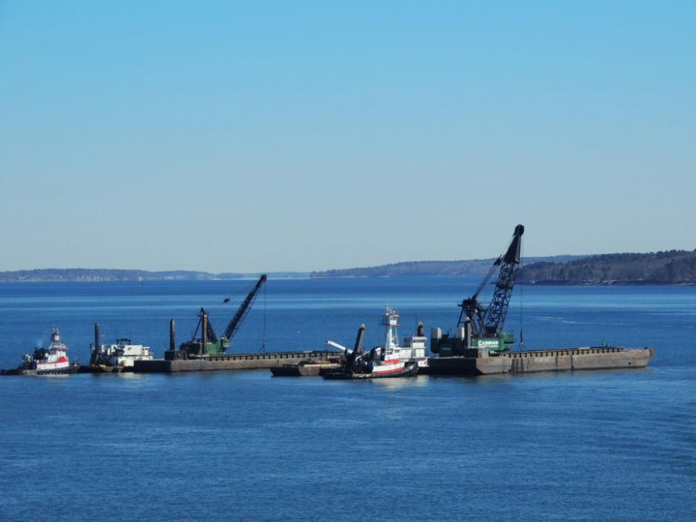 Portland Harbor Maintenance Dredging / Rock Removal