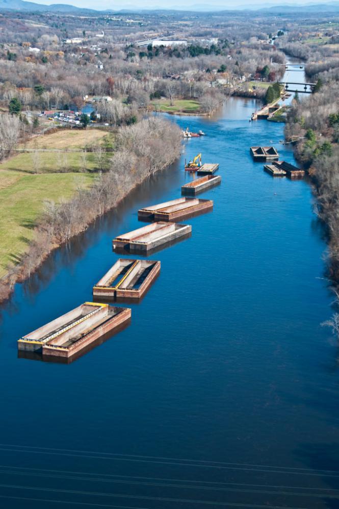 Hudson River Environmental Remediation Dredging