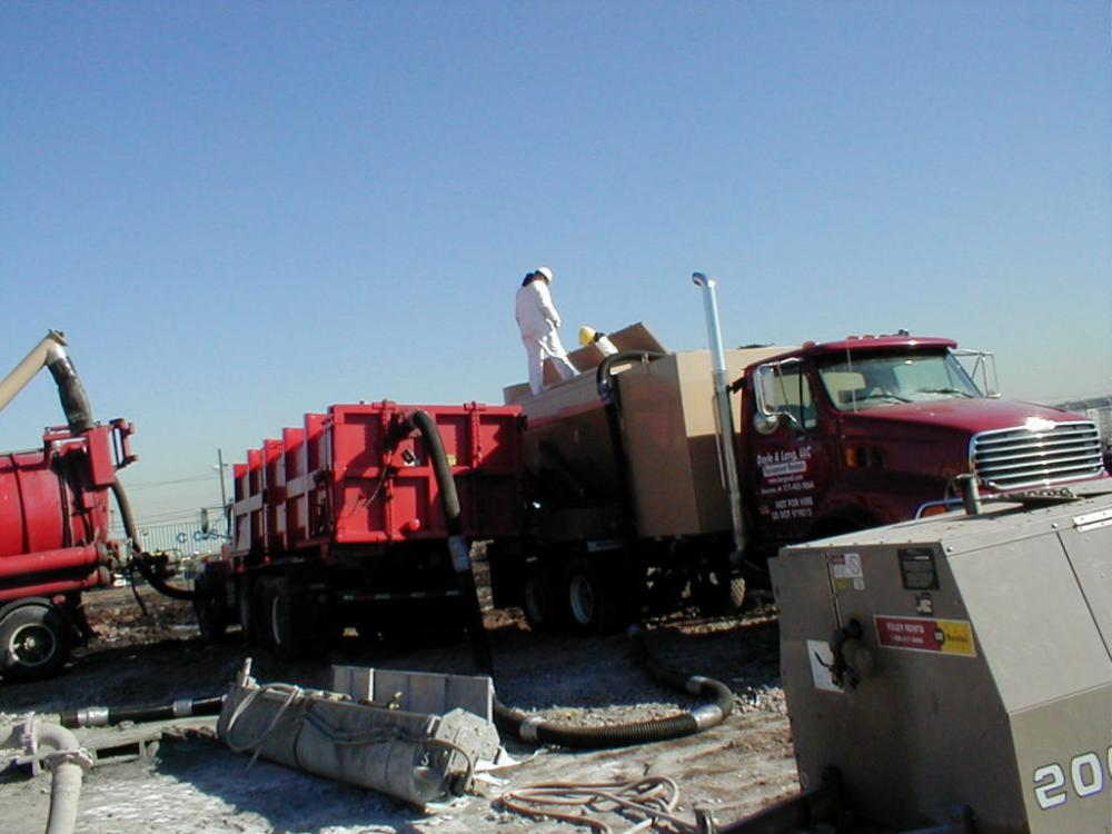 Beazer East Site Remediation, Port Newark