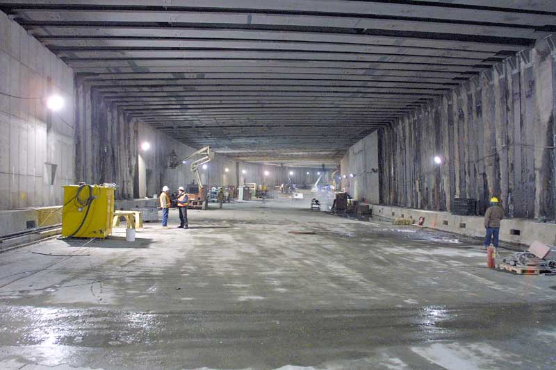 Central Artery / Tunnel (CA/T) Construction