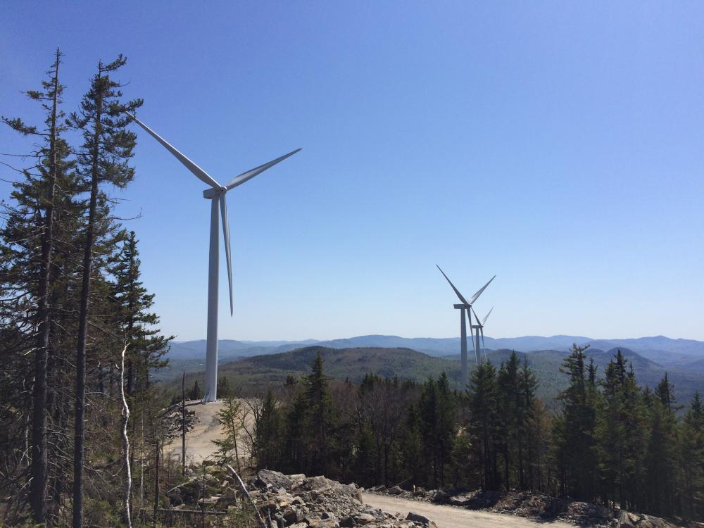 Saddleback Ridge Wind Project