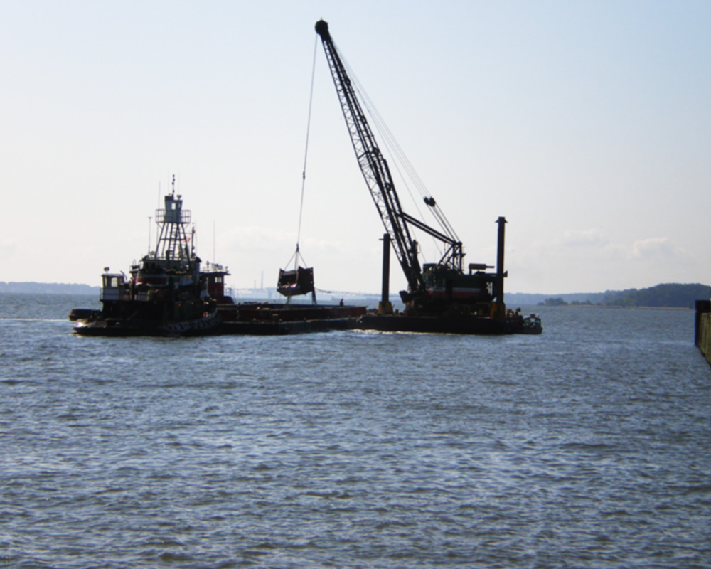 Cheatham Annex Naval Weapons Facility Maintenance Dredging