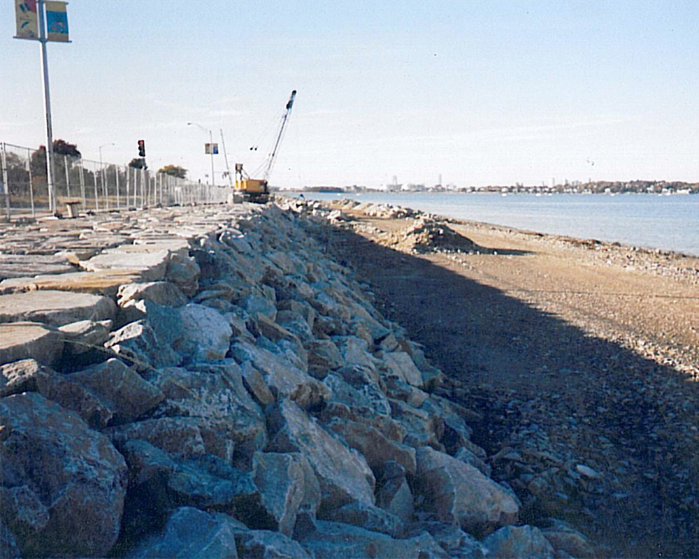 Wollaston Beach Seawall Rehabilitation