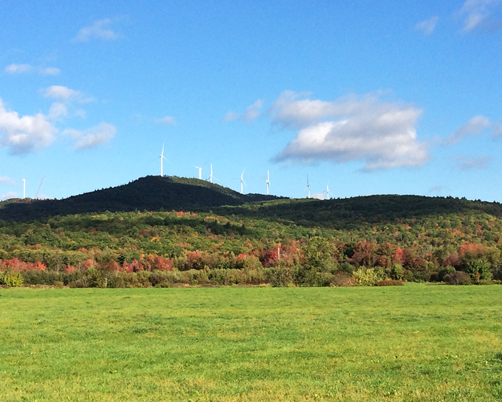 Canton Mountain Wind Farm