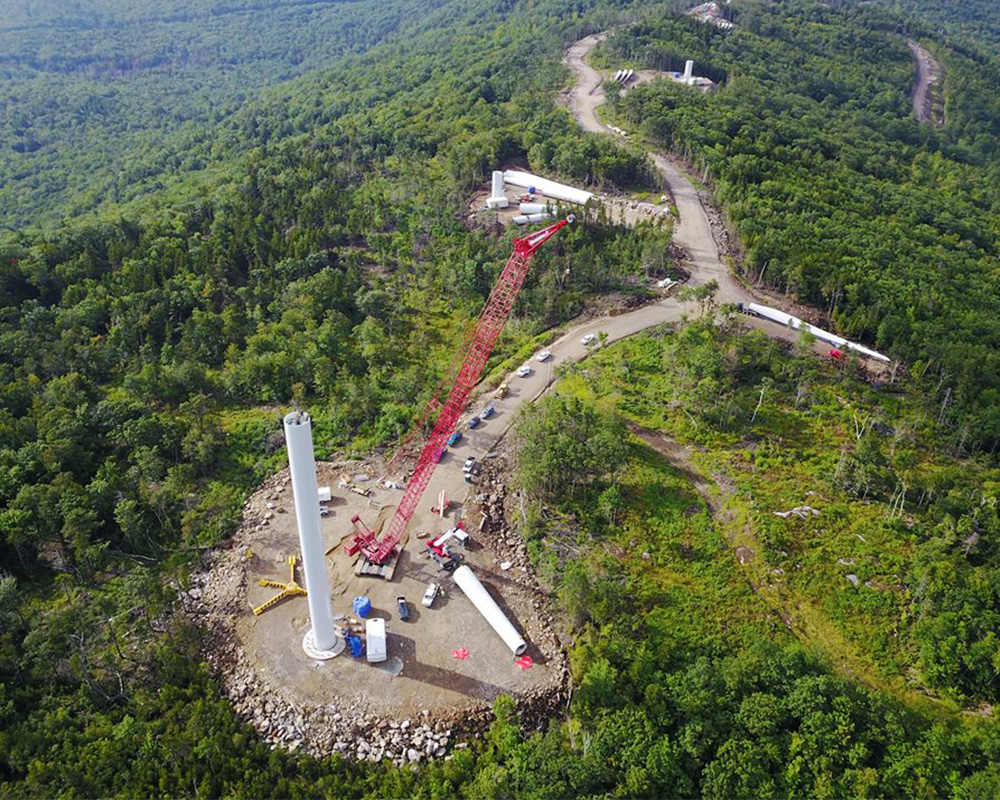 Canton Mountain Wind Farm