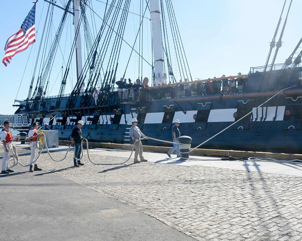 USS Constitution Pier 1 Structural Repairs