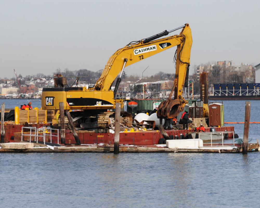 Flushing Bay Remediation Dredging