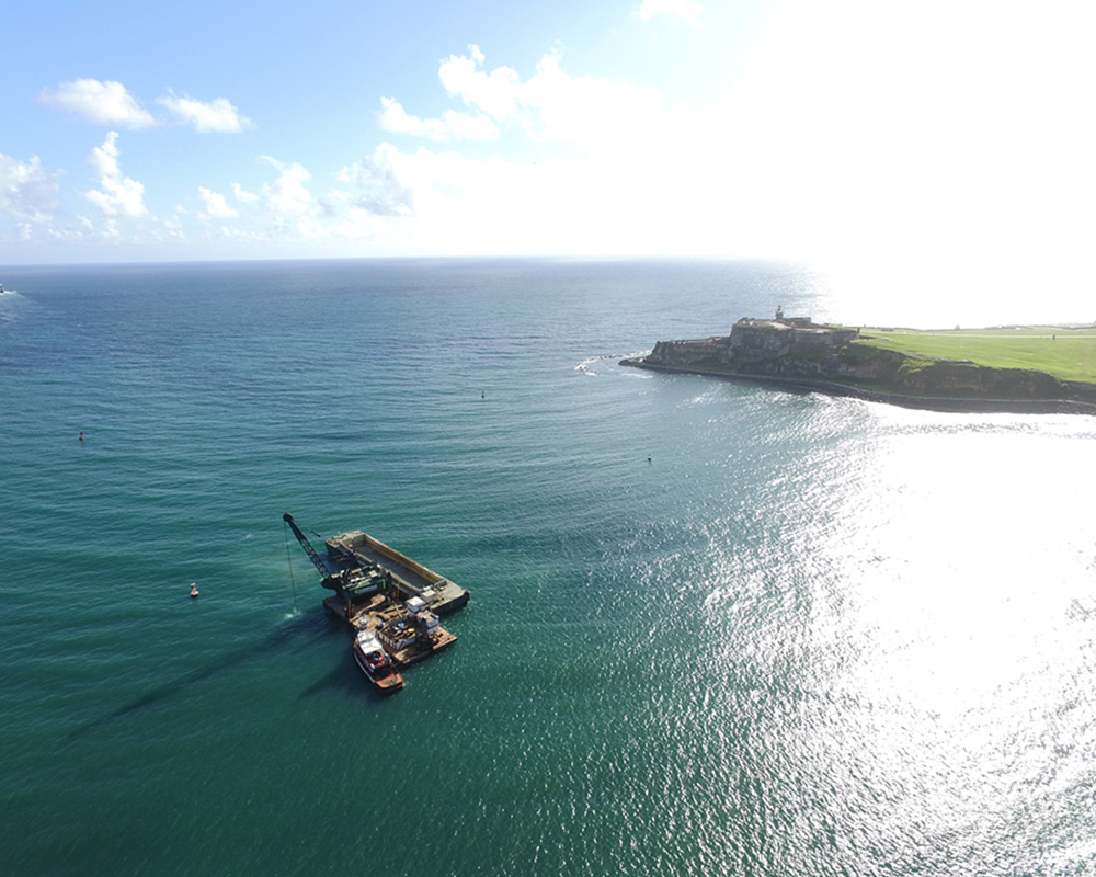 San Juan Harbor Maintenance Dredging