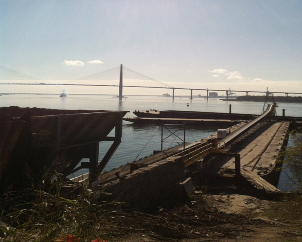 Charleston Naval Base Container Terminal, Phase 1-B