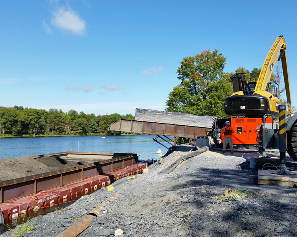 Hudson River Isthmus Transloading Area (ITA)