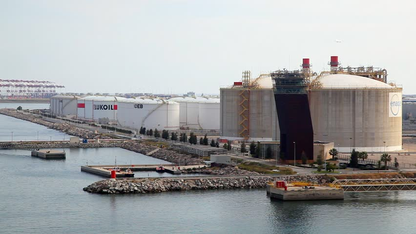 Gas Natural, S.A. LNG Storage Tank