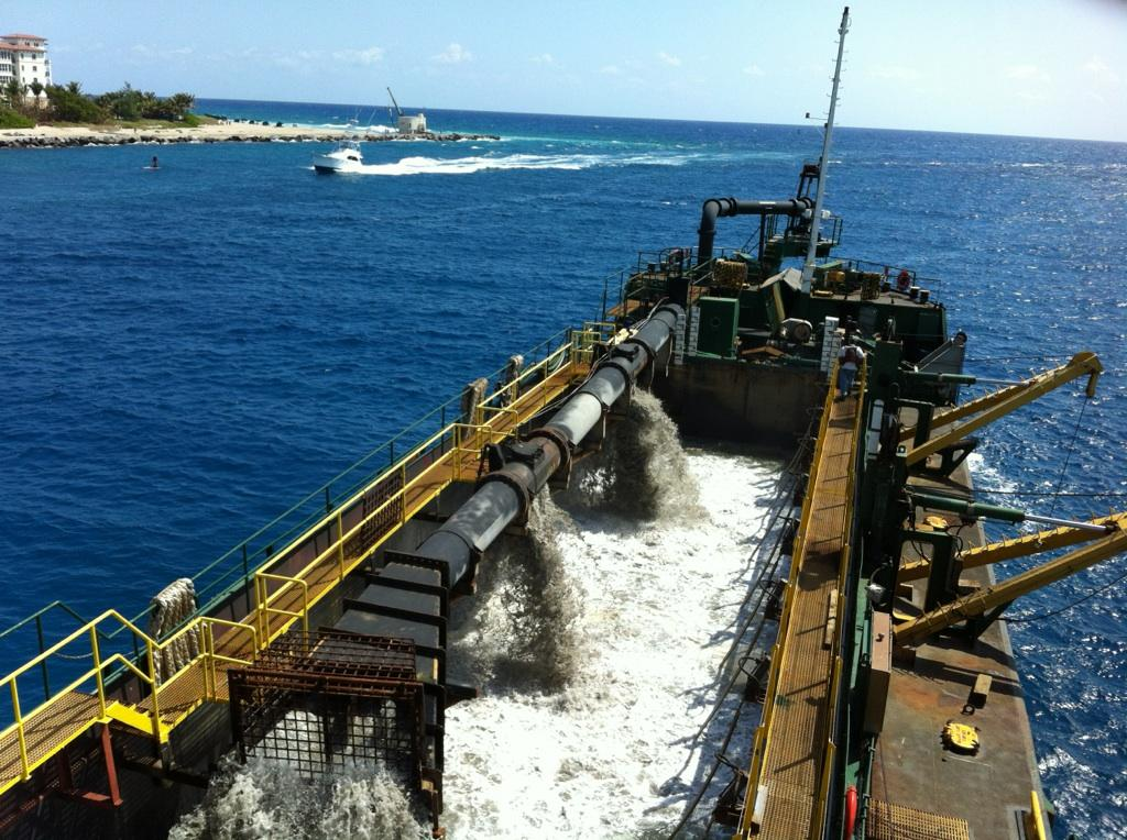 Palm Beach Harbor Maintenance Dredging 2012