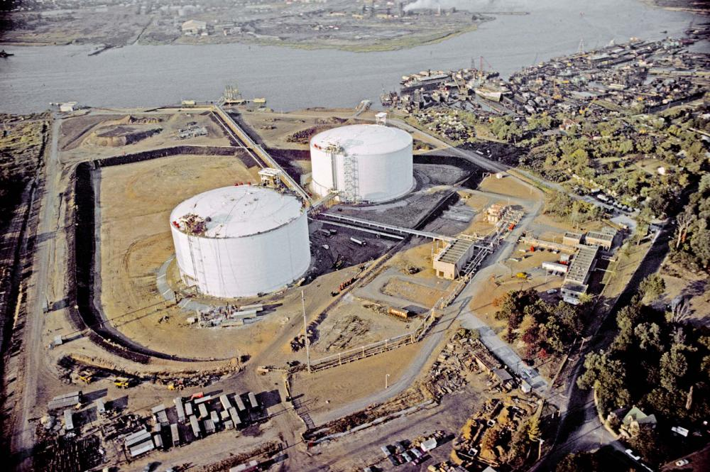 Distrigas Corporation LNG Storage
