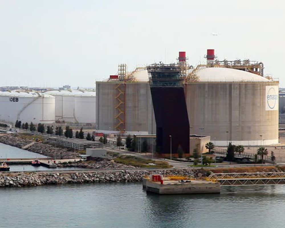 ENAGAS Regasification Terminal LNG Storage Tank
