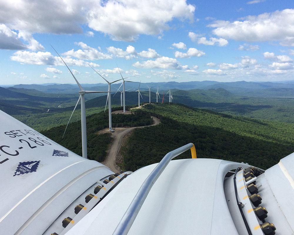 Saddleback Ridge Wind Project