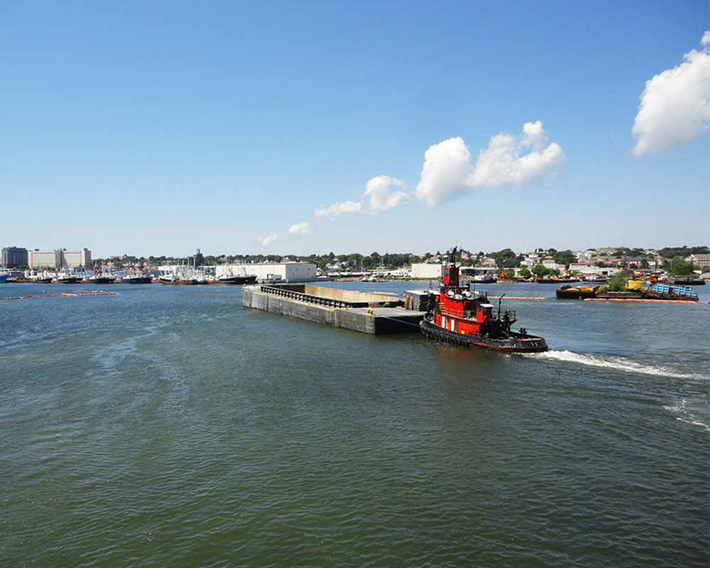 New Bedford Harbor PCB Capping and Confined Aquatic Disposal (CAD) Cell Projects