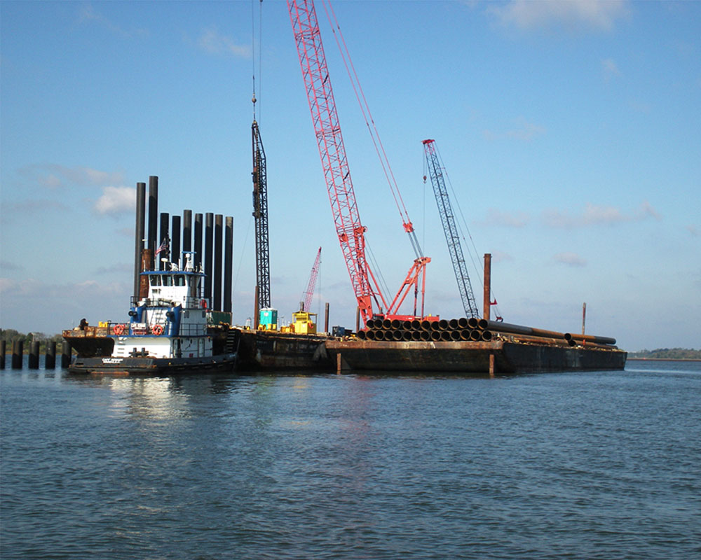 Charleston Naval Base Container Terminal, Phase 1-A