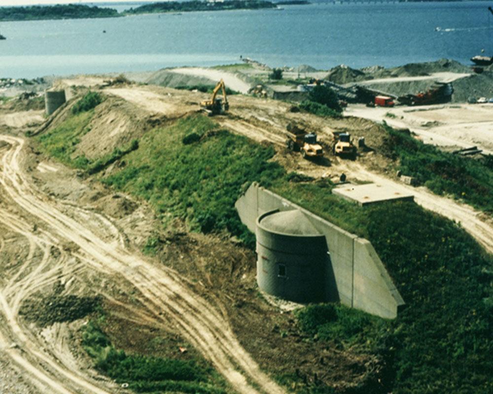 Fort Dawes Bunker Demolition