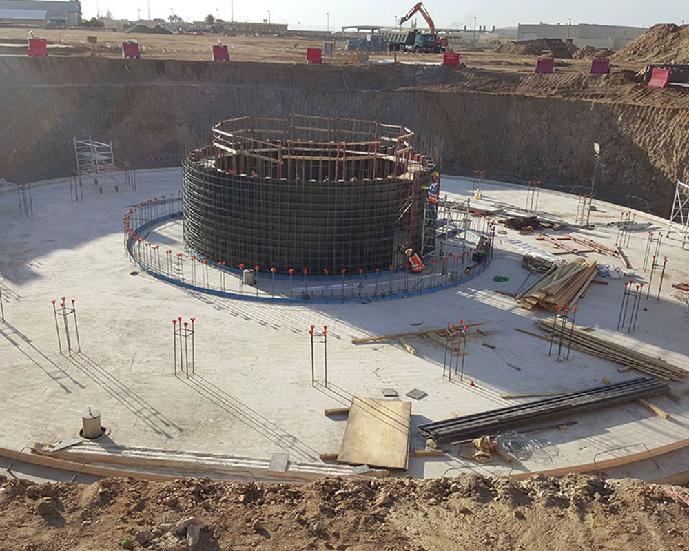 King Khalid Training Center Water Storage Tank