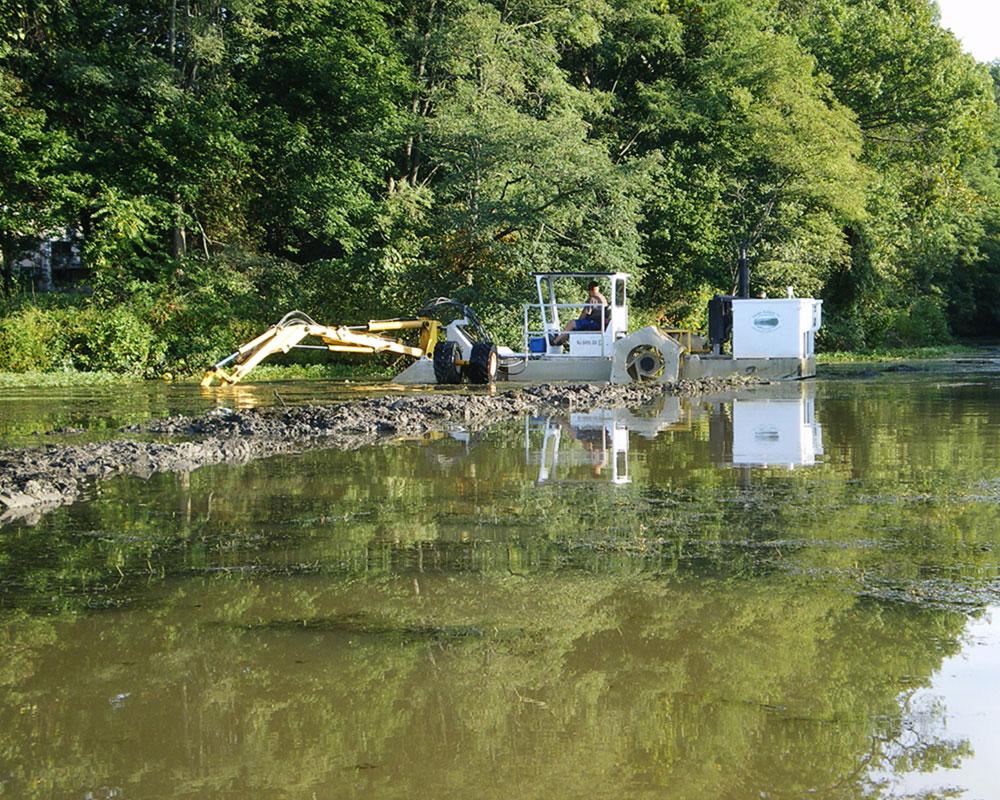 Lake Kittamaqundi Debris Removal / Dredging / Dewatering