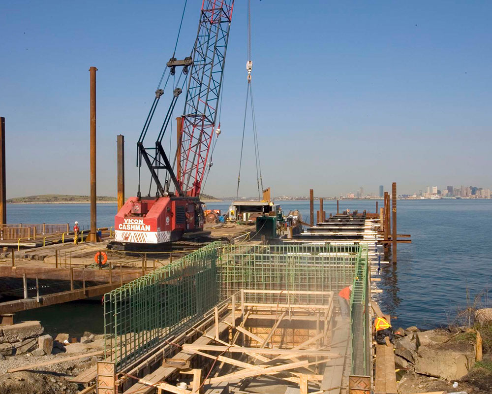 Long Island Pier Construction