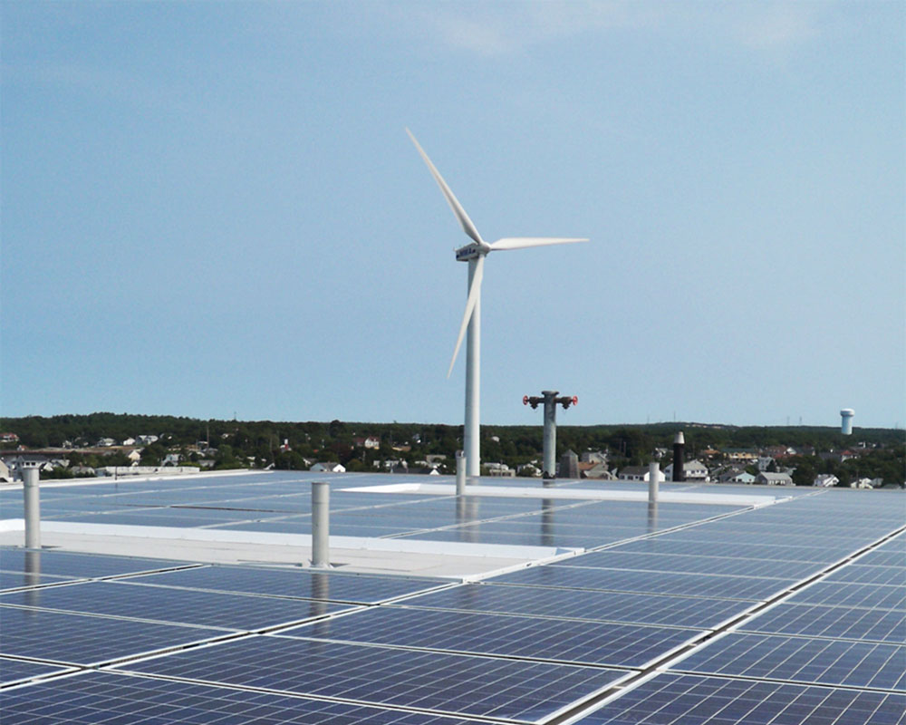 Massachusetts Maritime Academy Wind Project