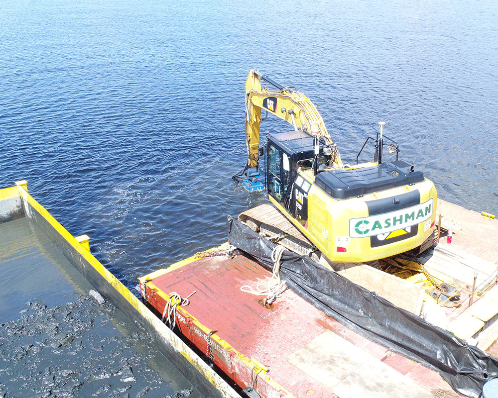 New Bedford Lower Harbor Remediation Dredging