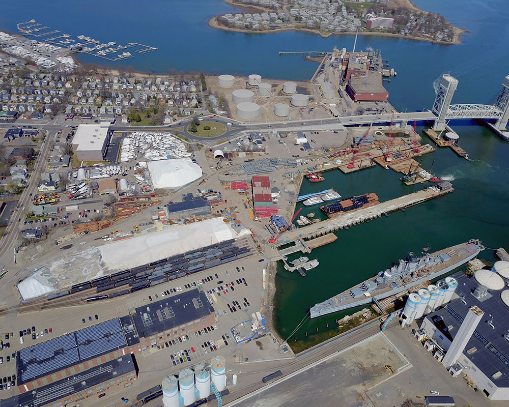 Quincy Shipyard Development