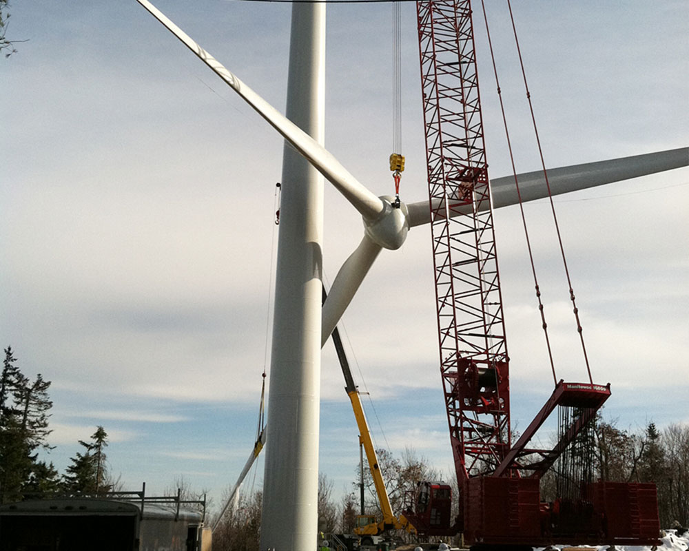 Spruce Mountain Wind Project