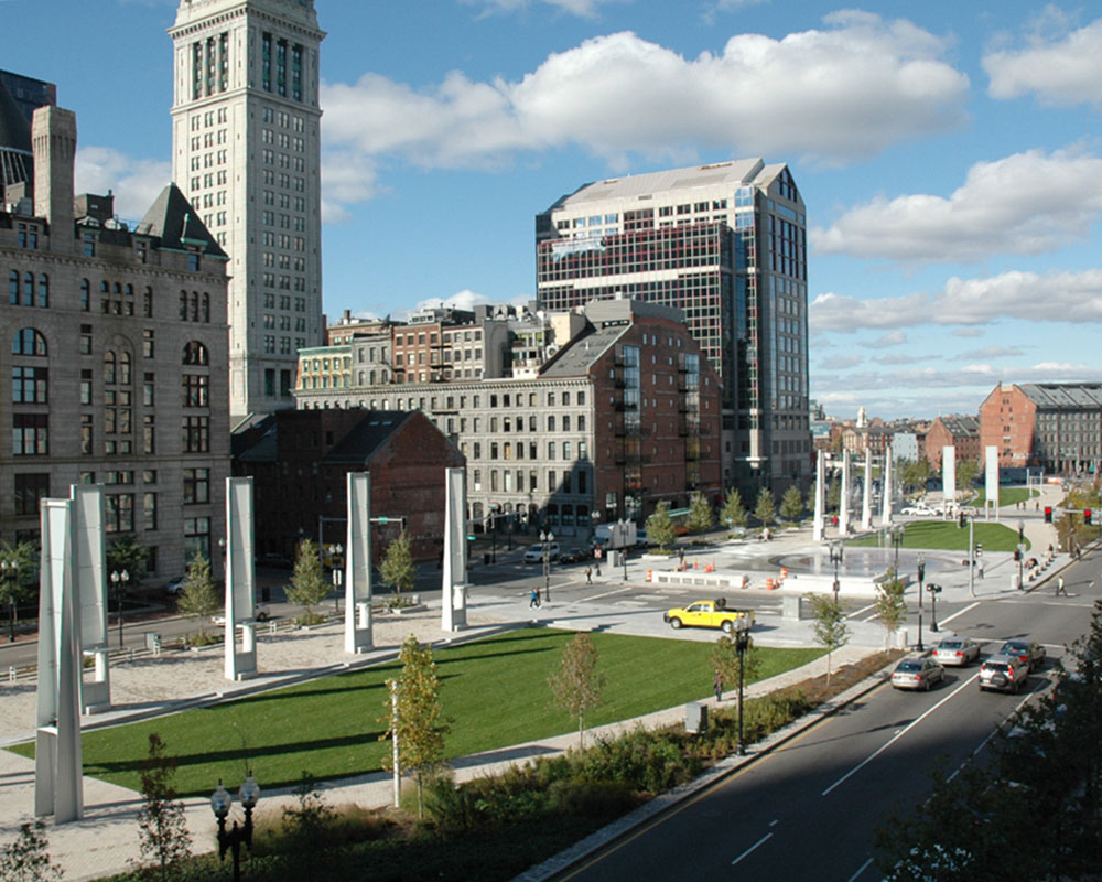 Wharf District Parks - Kennedy Greenway