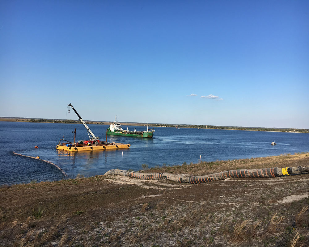 Jacksonville Harbor Maintenance Dredging, 2017