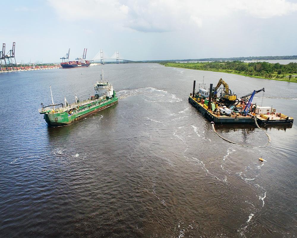 Jacksonville Harbor Maintenance Dredging, 2018
