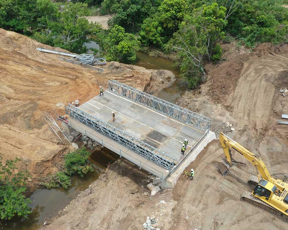 Riviere Cochon Gras Bridge - Cashman Family Foundation