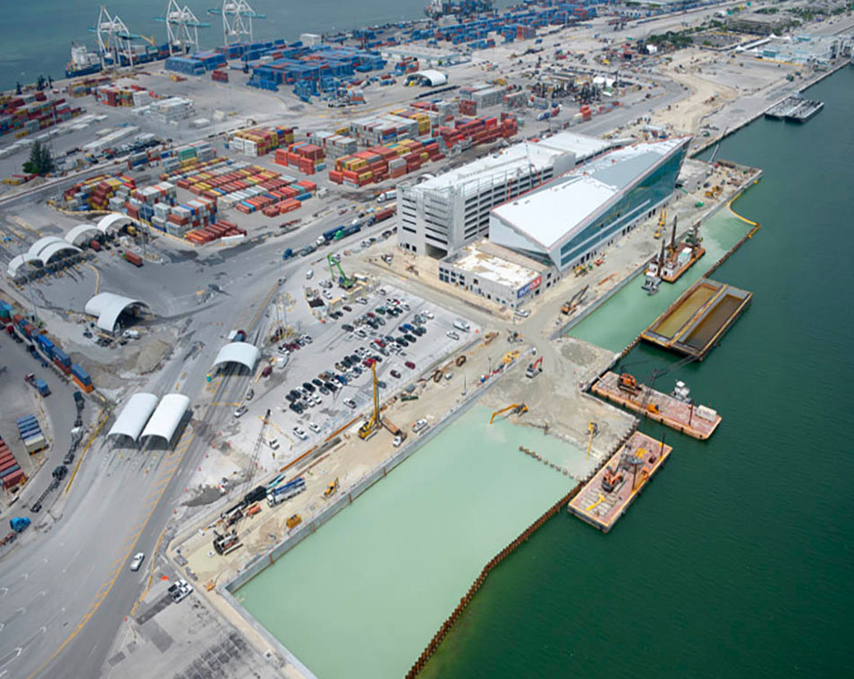 New North Cruise Berth 7, Port of Miami