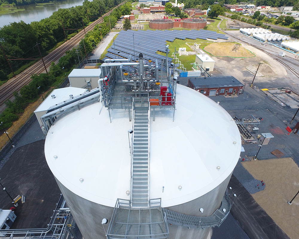 UGI Energy Services LNG Storage Tank